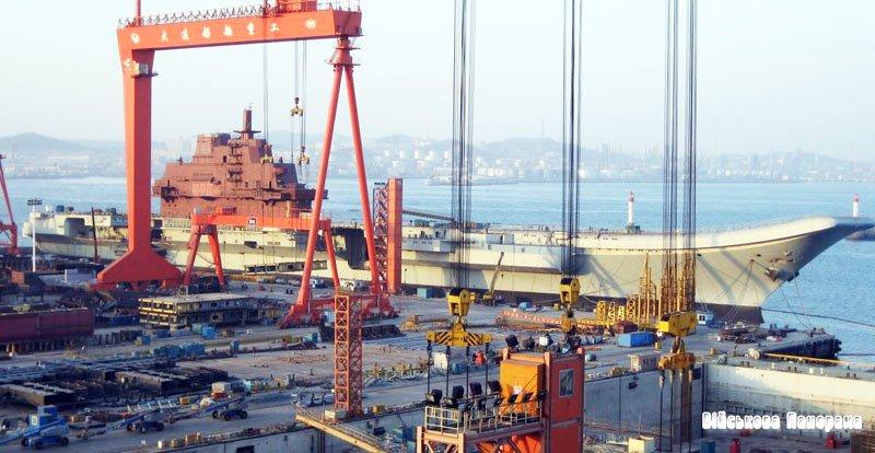 Китай приступив до будівництва другого авіаносця