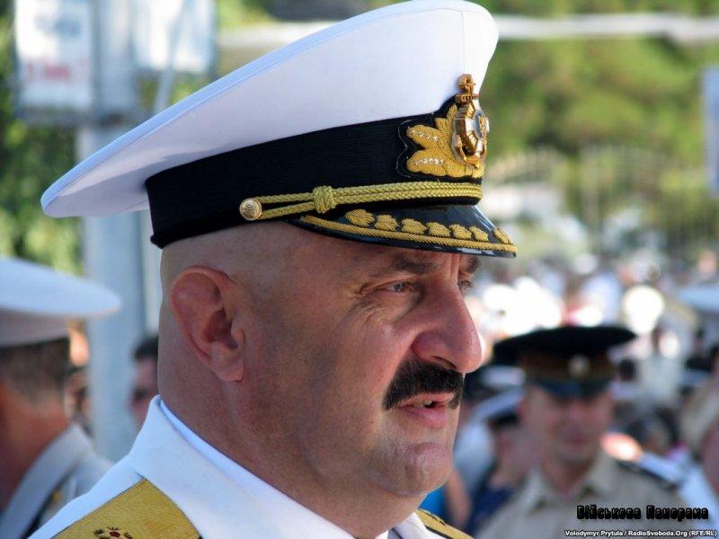 Президент України В.Янукович призначив адмірала Ю.Іл'їна начальником Генерального штабу ЗСУ