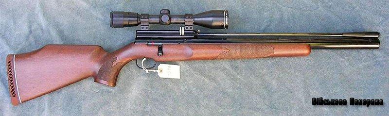 Снайперська гвинтівка Аскор під патрони із стріловидними кулями