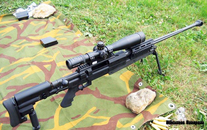 Французька снайперська гвинтівка Mini-Hecate