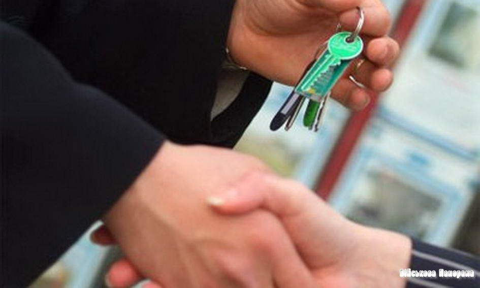 Микола Азаров вручив 56 сім'ям столичних прикордонників ключі від нових квартир