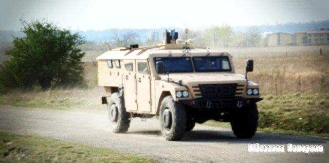 Французький бронеавтомобіль «Шерпа» проходить випробування в Казахстані