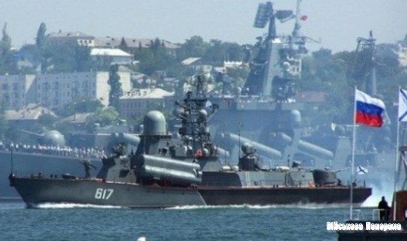 Росія посилить Чорноморський флот підводними човнами, бойовими катерами і винищувачами