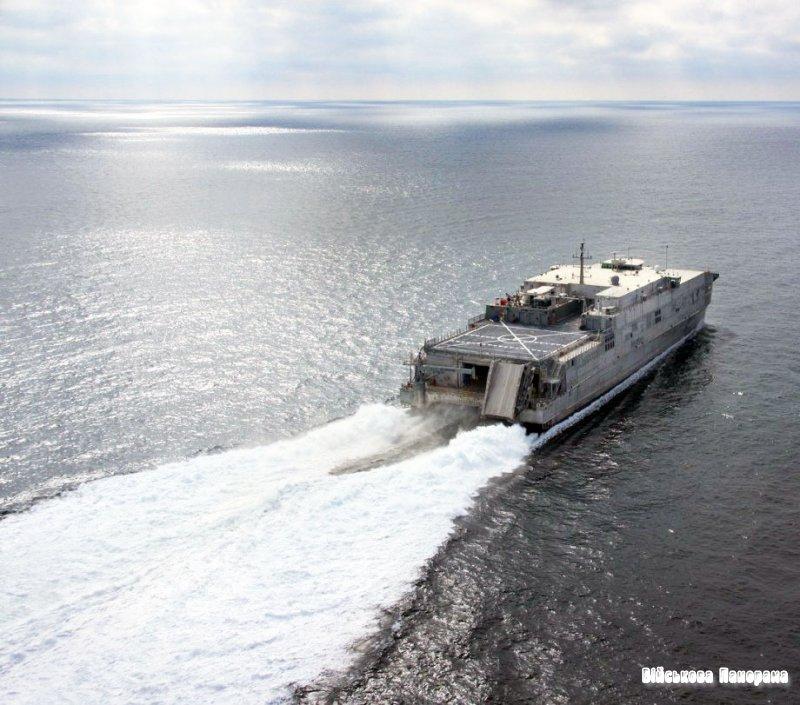 Закладений четвертий високошвидкісний транспортний корабель класу JHSV для ВМС США
