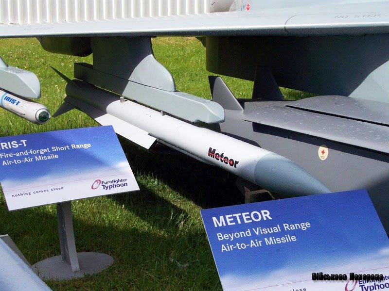 Німецькі військові отримають ракети класу «повітря-повітря» Meteor