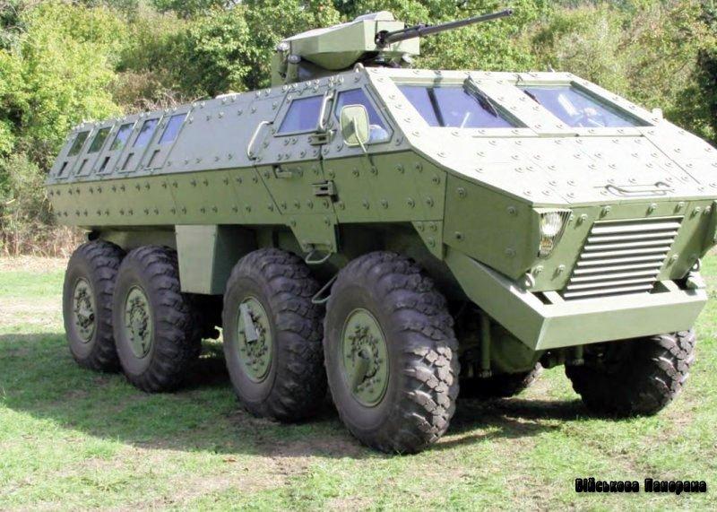 Сербська оборонна компанія YugoImport представляє нову броньовану машину 8×8 Lazar 2 на Partner 2013