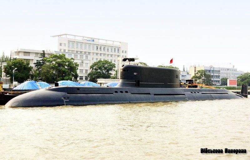 Китай побудував найбільший у світі дизель-електричний підводний човен