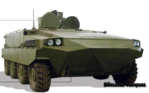 Харківський танк Т-64 переробили на незвичайну колісну БМП