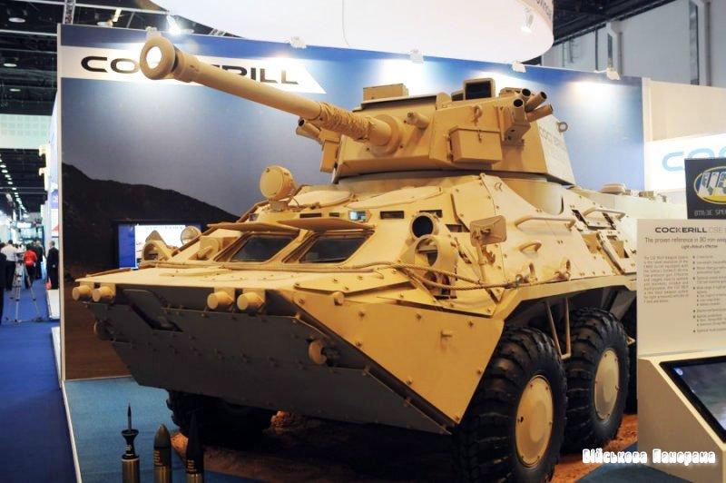 Новинка української бронетехніки — БТР-3Е з баштою Cockerill CSE 90L
