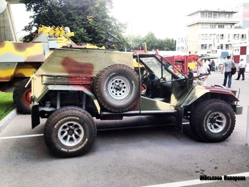 Фахівцями Бауманського університету розроблений легкий штурмовий автомобіль для збройних сил