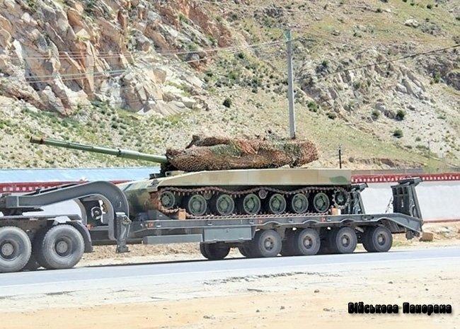 Секретний китайський «гірський» танк прийнятий на озброєння