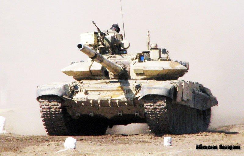 В Індії вироблять 235 танків Т-90 за російською ліцензією
