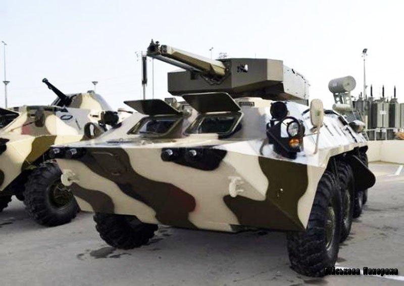 Азербайджанські фахівці створили новий бойовий модуль
