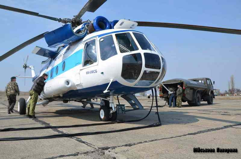 Вертоліт Мі-8МСБ сертифікований у Білорусі
