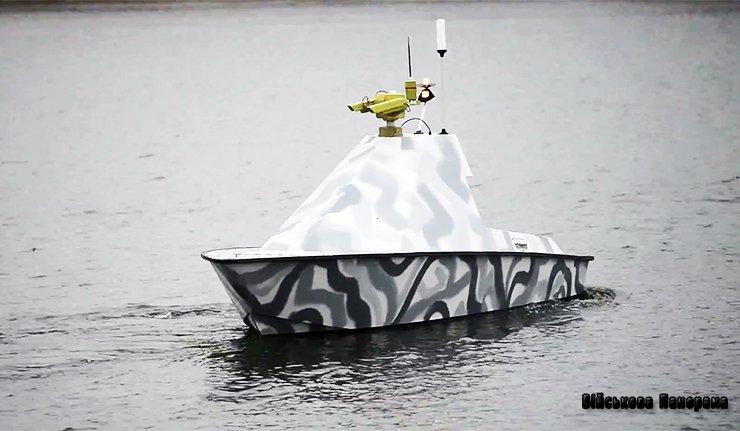 У Білорусії представили морський бойовий катер-безпілотник