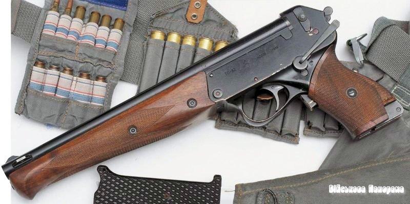 Зброя виживання космонавтів: пістолет ТП-82