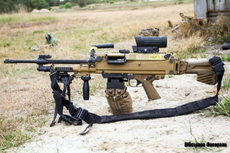 Новий німецький кулемет HK-121
