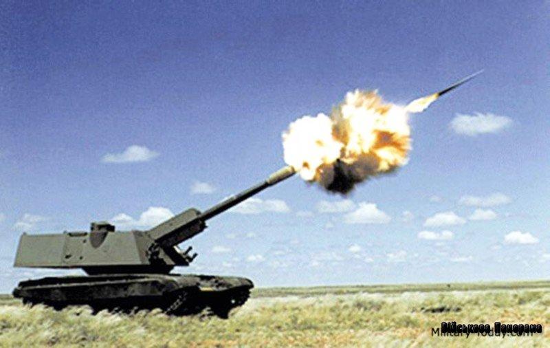 Індійська самохідна артилерійська установка Bhim