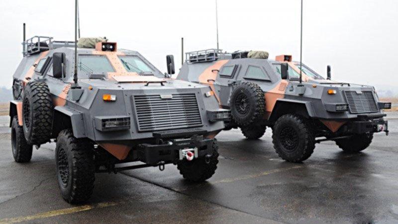 Грузинська машина зв'язку на базі бронеавтомобіля «Didgori 2»