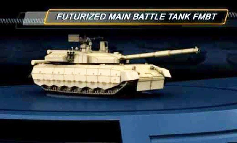 Україна представила проект свого перспективного танка, який може бути озброєний 140-мм гарматою