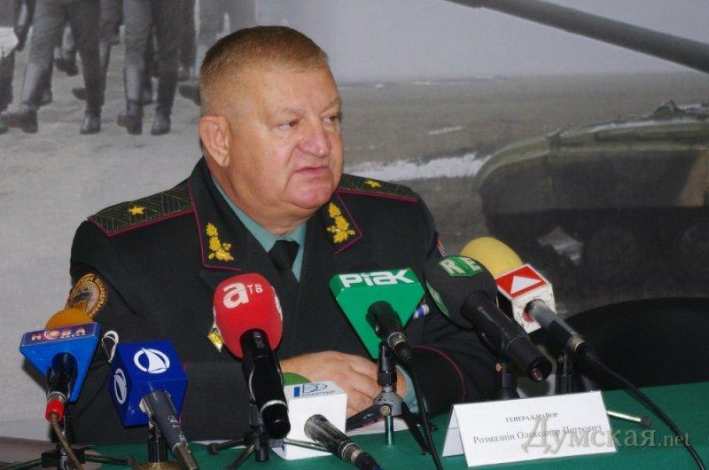 До кінця тижня усі українські військові мають бути виведені з АРК — Розмазнін