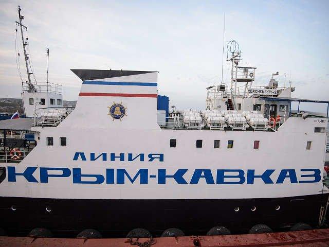 Російська армія будує між Кавказом і Кримом додаткову поромну переправу