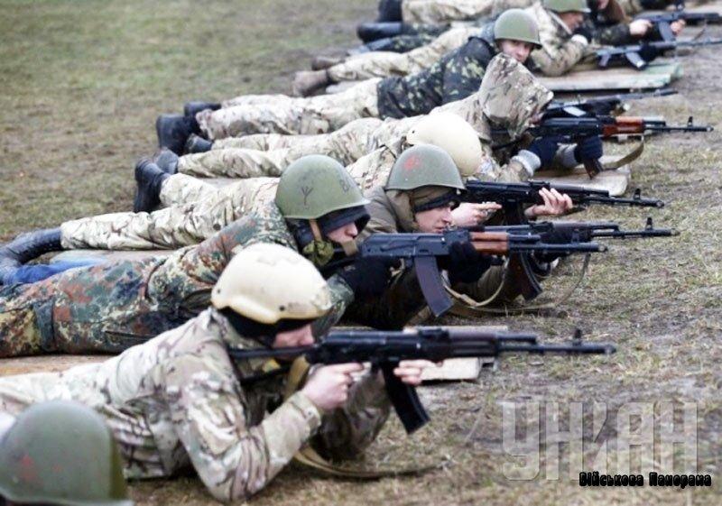 Поблизу зони АТО захищений бронежилетом лише кожен сотий солдат