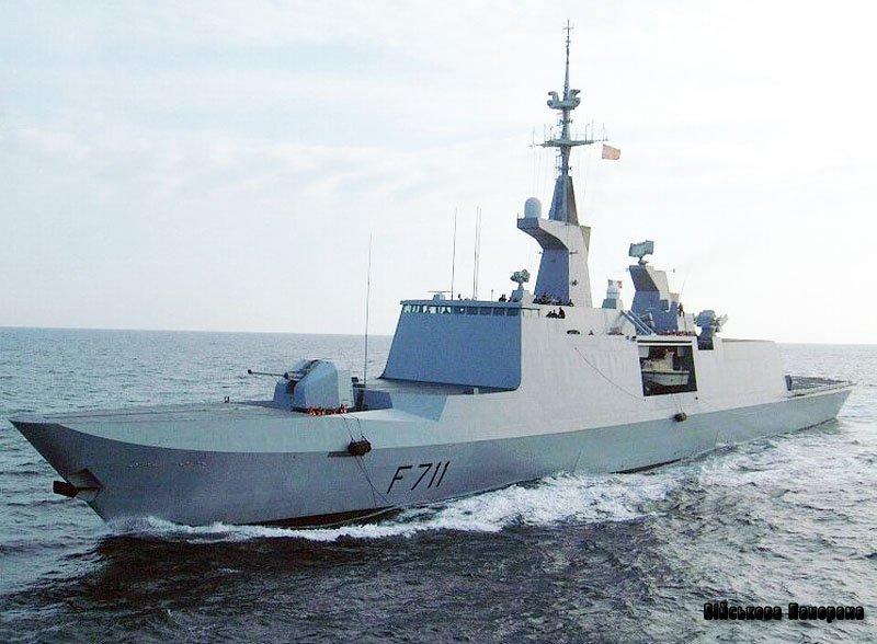 Французький фрегат увійшов у Чорне море
