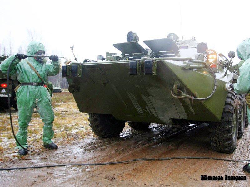 Полк радіаційного, хімічного і біологічного захисту з'явився в Криму