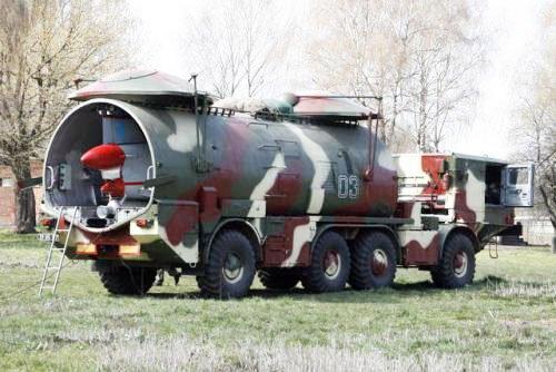 Україна розконсервувала ракетовози ЗІЛ-135К і БАЗ-5921