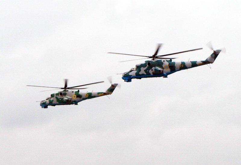 Втрати української армії за 20 серпня: збитий штурмовик Су-25 і два вертольоти