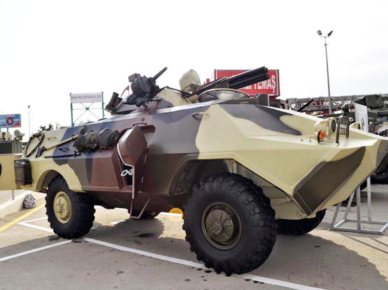 ZKDM — азербайджанська модернізація БРДМ-2