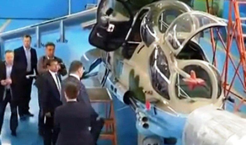У небі над Донбасом з'являться українські модернізовані Мі-24 з тепловізорами і далекобійними ракетами