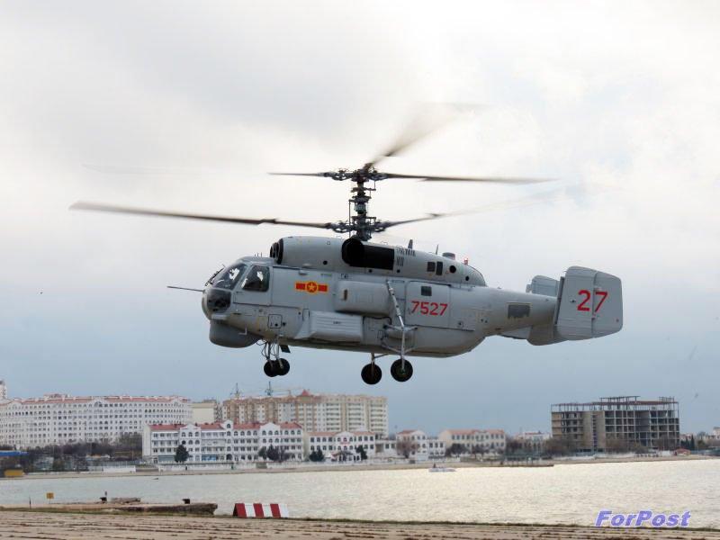 У Севастополі відремонтований другий в'єтнамський Ка-28