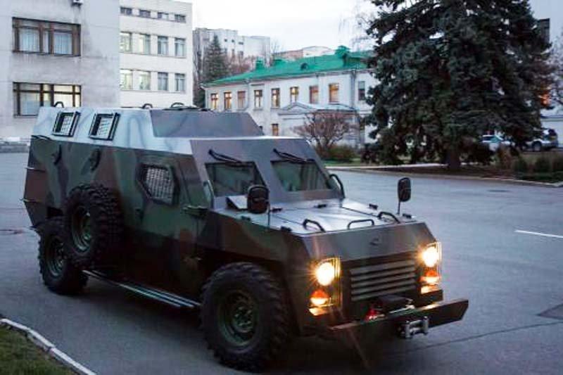 Бронеавтомобіль «Богдан Барс» будуть випробовувати і доводити українські автогонщики