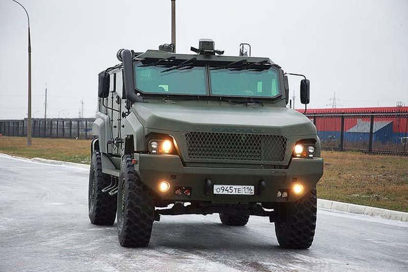 Жертва санкцій. Бронеавтомобіль КамАЗ-53949 «Тайфун-К»