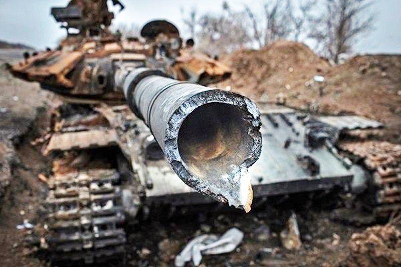 Під Дебальцеве сили АТО знищили 30 російських танків