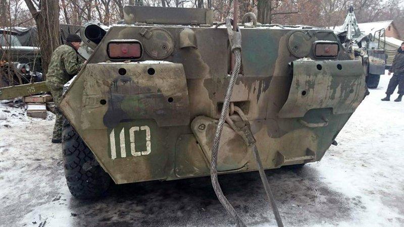 «Карателі хунти» захопили новісінький російський БТР-80! (фото)