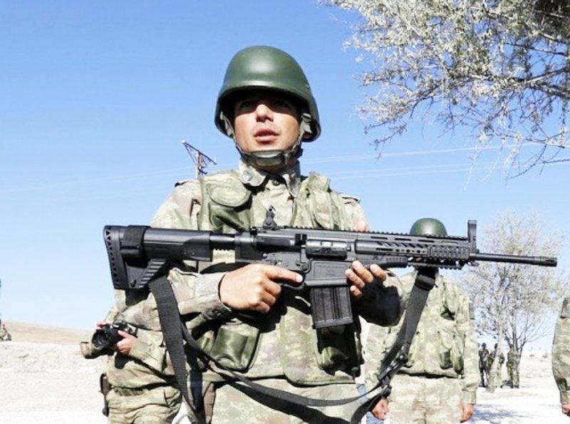 Туреччина розпочинає серійне виробництво 7,62-мм штурмових гвинтівок MPT-76