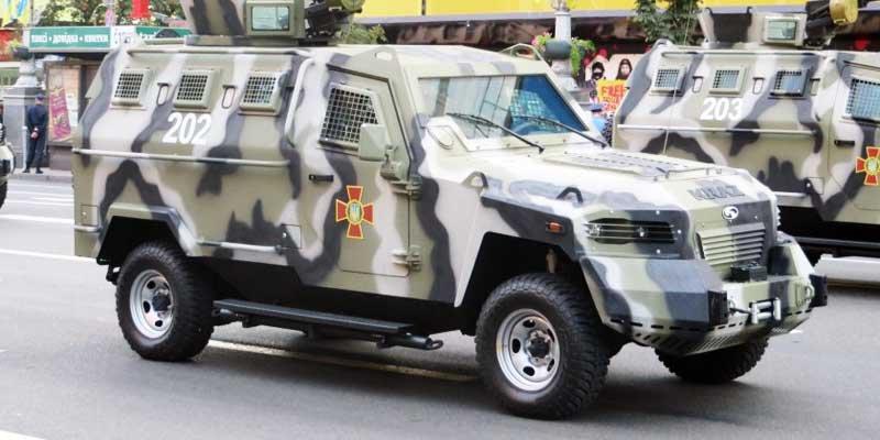 КрАЗ-Кугуар витримав понад 70 пострілів