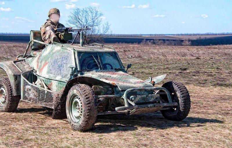 Підрозділ спецназу України закупить легкі штурмові автомобілі «Пегас»