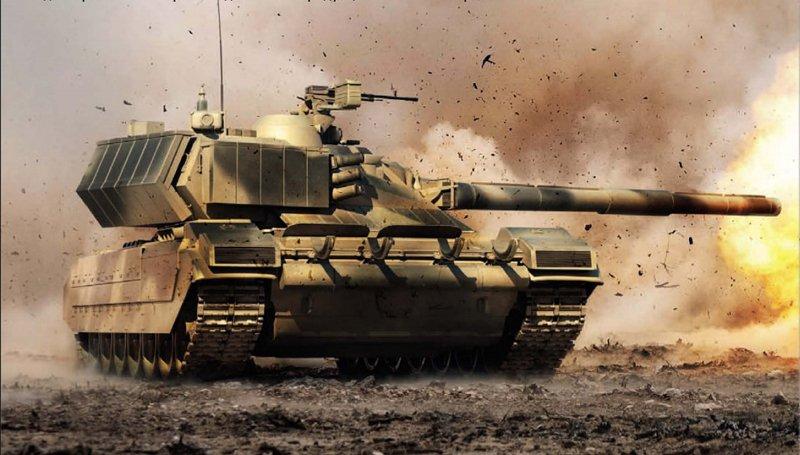 Думка про нові російські танки «Армата»