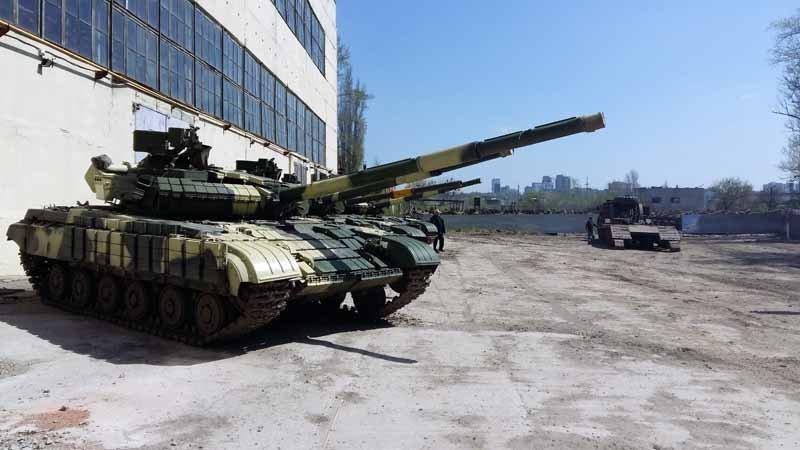 «УКРОБОРОНПРОМ» передав нову партію танків МОУ