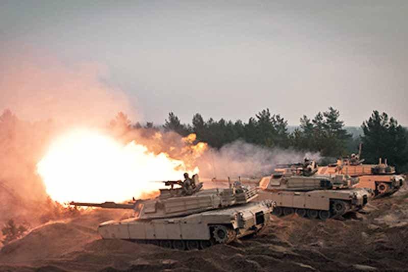 Американські танкісти провели перші стрільби в Естонії