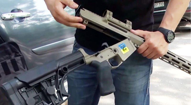 Бійцям АТО передали штурмові гвинтівки американського зразка