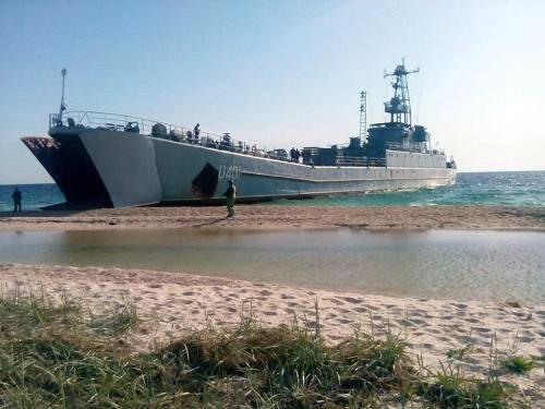 Українські морські піхотинці відпрацювали десантування з моря. Фото