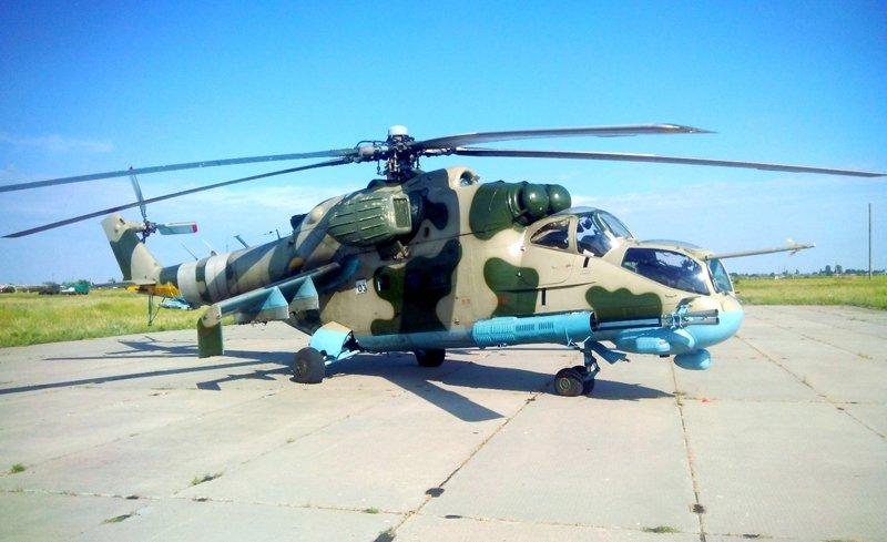 Чернігівські військові науковці провели випробування модернізованого вертольоту Мі-24П