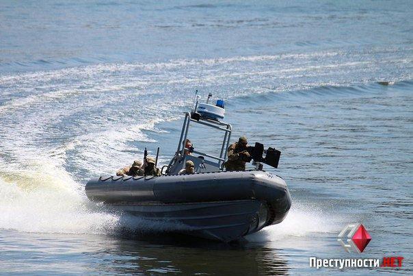 Як «Морські котики» в Миколаєві «захопили» крейсер «Україна»
