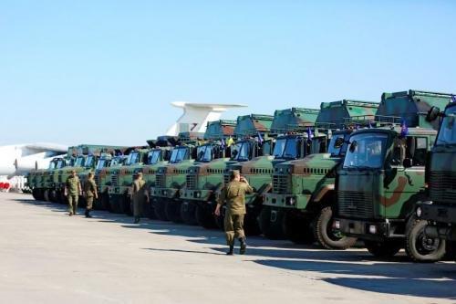 Яку військову техніку отримала армія до Дня Незалежності. Фото