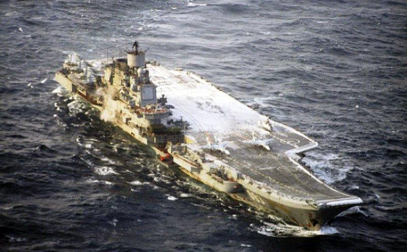 Розвал російського флоту («The Week», США)